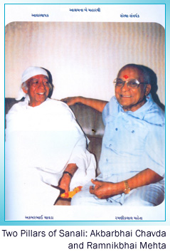 Two Pillars of Sanali: Akbarbhai Chavda and Ramnikbhai Mehta