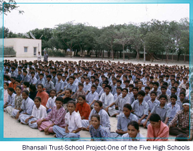 bhansali trust - School Project