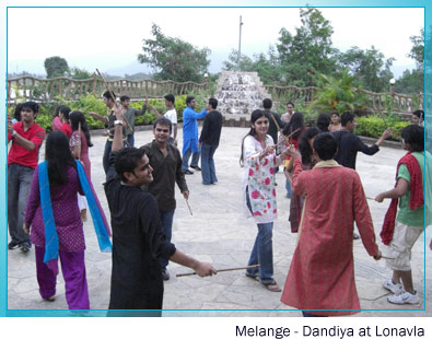 Melange - Celebrating Navratri at Lonavala