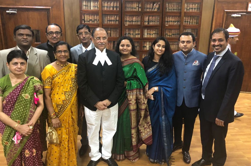 Justice Kalpesh Jhaveri Appointed Chief Justice of Orissa High Court (03 Aug 2018)