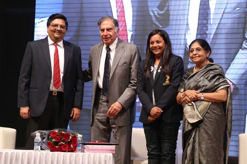 Ratan Tata Presents Inaugural M. G. Mehta Human Spirit Award for Differently Abled Achievers (05 Dec 2015)